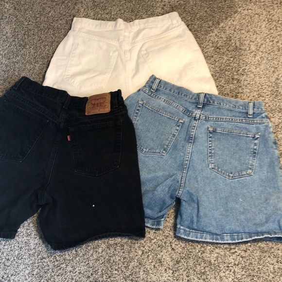 Levi's Pants - Vintage High Waisted Shorts Bundle